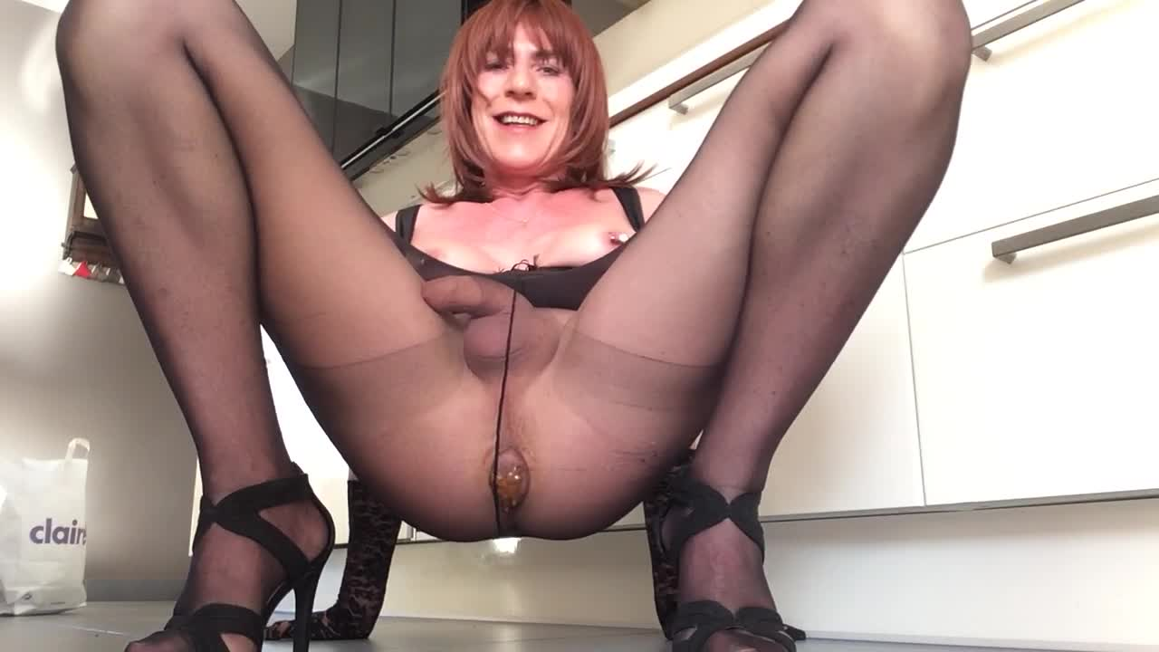 tranny shitting video