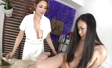 Horny Asian getting fisted hard