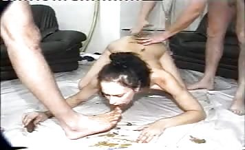 Naughty couple having sex
