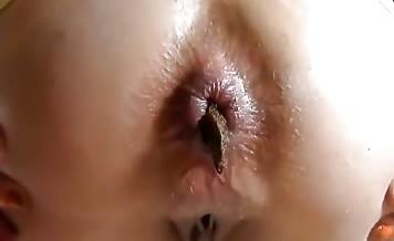 Big turd in close up