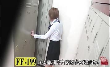 Office Jap girls pooping in public bathrooms