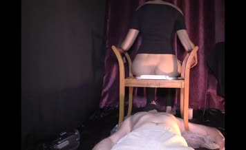 Poop on slave's face